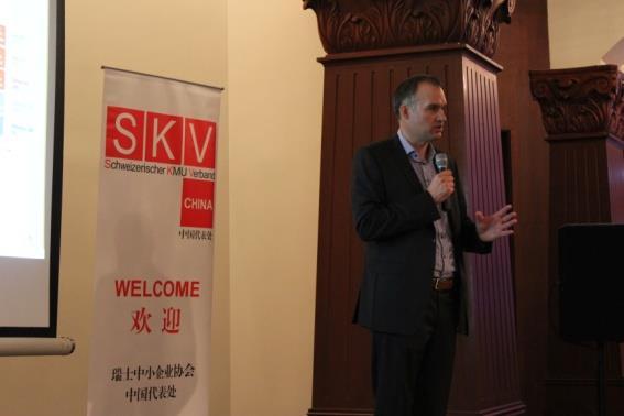 Mr. Heiko Rosenbohm, CEO of Chancental